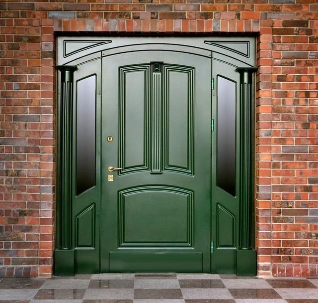дверь внутренняя входная в помещение общественного здания